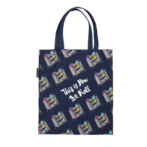 Library Cart Tote Bag