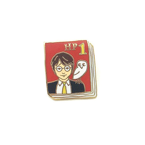 Harry Potter 1 Book Pin - The New York Public Library Shop