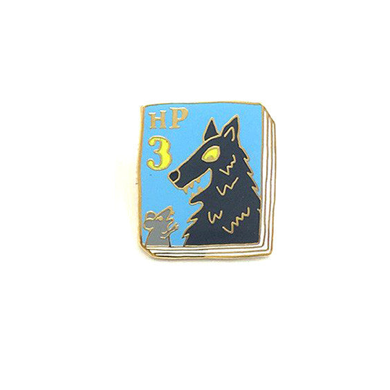 Harry Potter 3 Book Pin - The New York Public Library Shop