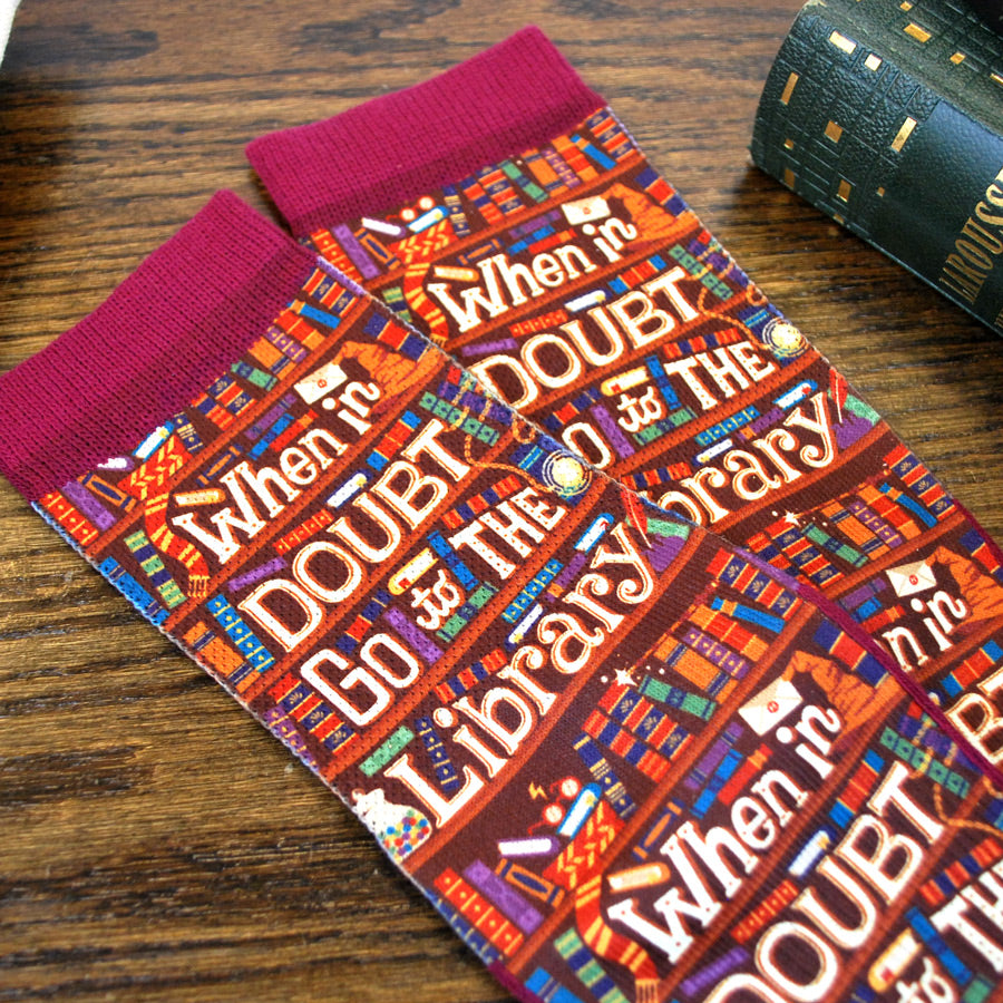 When in Doubt go to the Library Socks - The New York Public Library Shop
