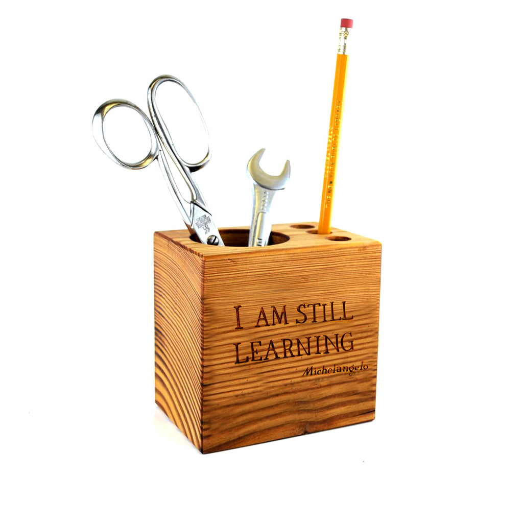 NYPL Michelangelo Quote Desk Caddy - The New York Public Library Shop