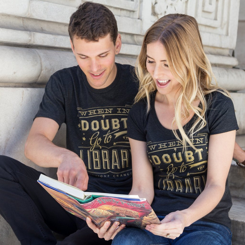 When in Doubt Go to the Library Ladies T-Shirt - The New York Public Library Shop