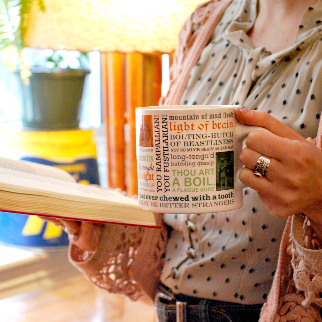 Shakespearean Insults Mug - The New York Public Library Shop