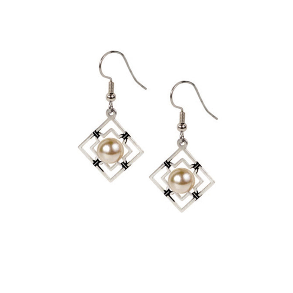 Wrought Iron Earrings - The New York Public Library Shop
