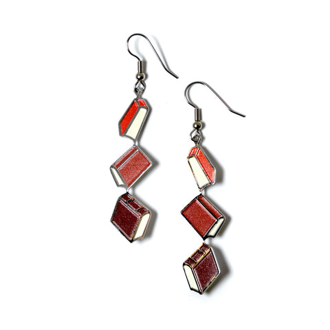 Bronte Book Earrings
