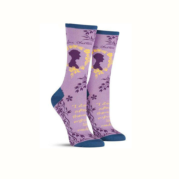 Jane Austen Socks - The New York Public Library Shop