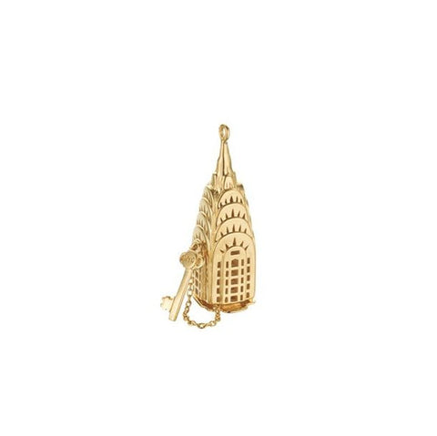Gold Chrysler Building Charm