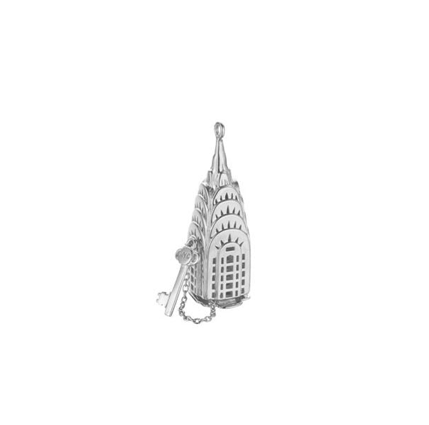 Silver Chrysler Building Charm - The New York Public Library Shop