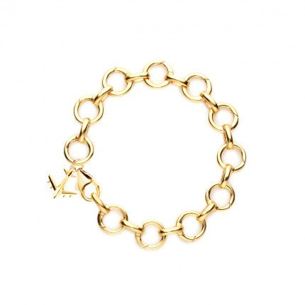 Gold Infinity Charm Bracelet - The New York Public Library Shop