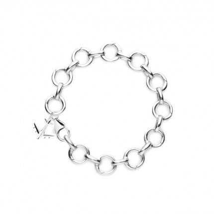 Silver Infinity Charm Bracelet - The New York Public Library Shop