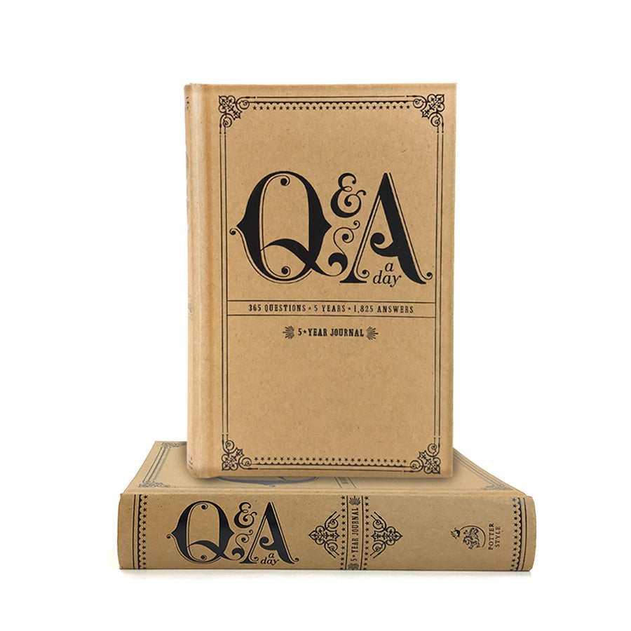 Q and A a Day 5 year Journal - The New York Public Library Shop