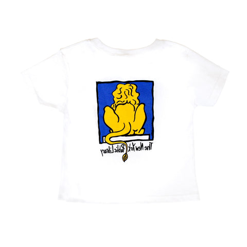 NYPL Toddler T-Shirt - The New York Public Library Shop