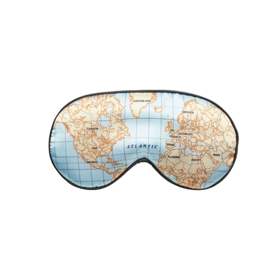 World Map Sleep Mask