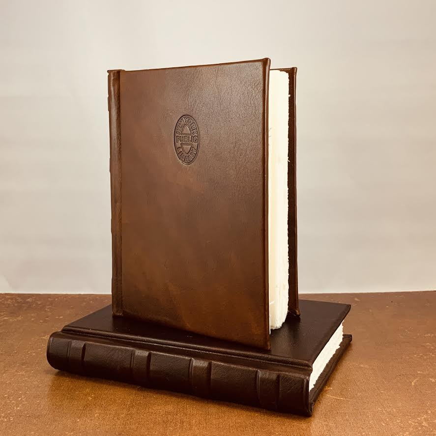 Hardcover Leather NYPL Stamp Journal - The New York Public Library Shop