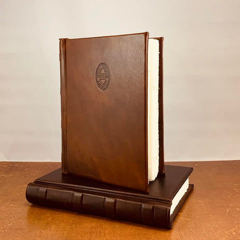 Hardcover Leather NYPL Stamp Journal