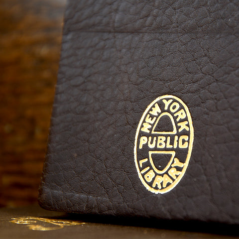 NYPL A-Z Monogrammed Journals - The New York Public Library Shop