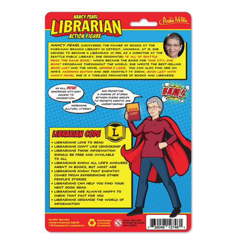 Librarian Action Figure