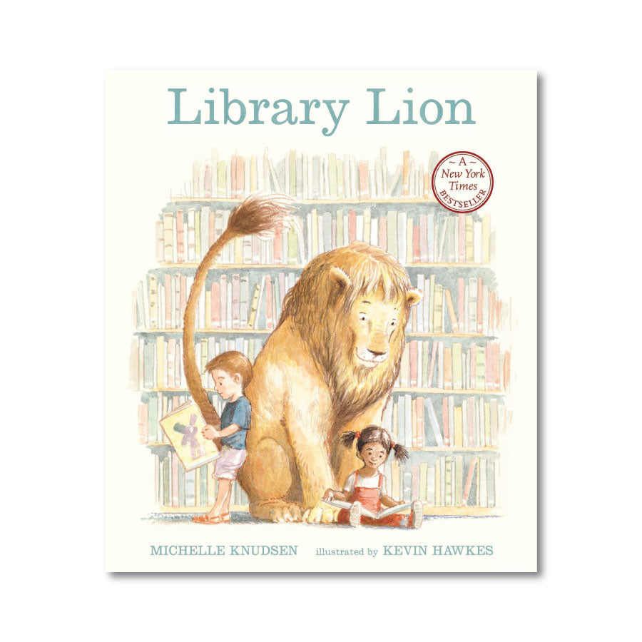 SIGNED: Library Lion Book