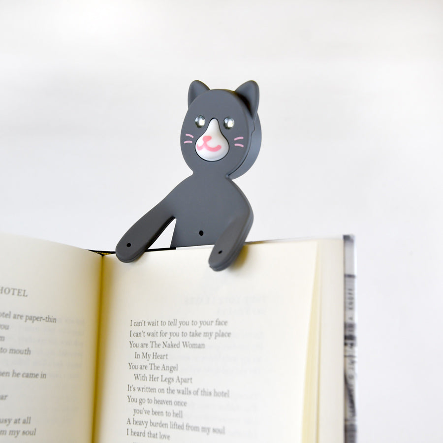 Bendable Cat Book Light