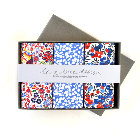Red, White & Blue Hankies