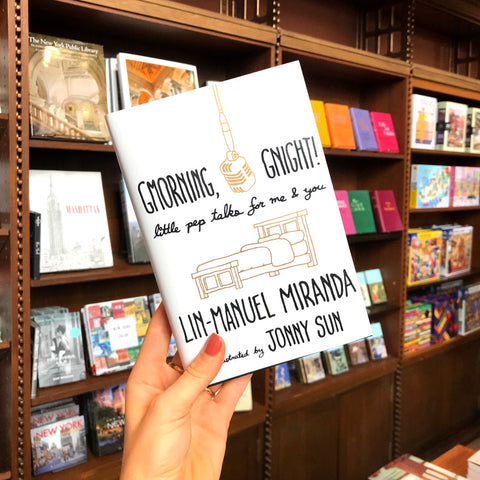 Gmorning, Gnight!: Little Pep Talks for Me & You - The New York Public Library Shop