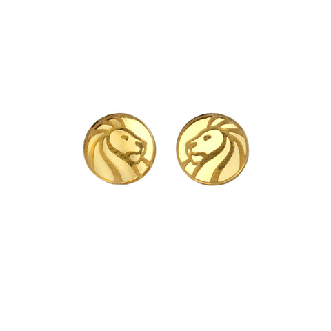 NYPL Lion Earrings - The New York Public Library Shop