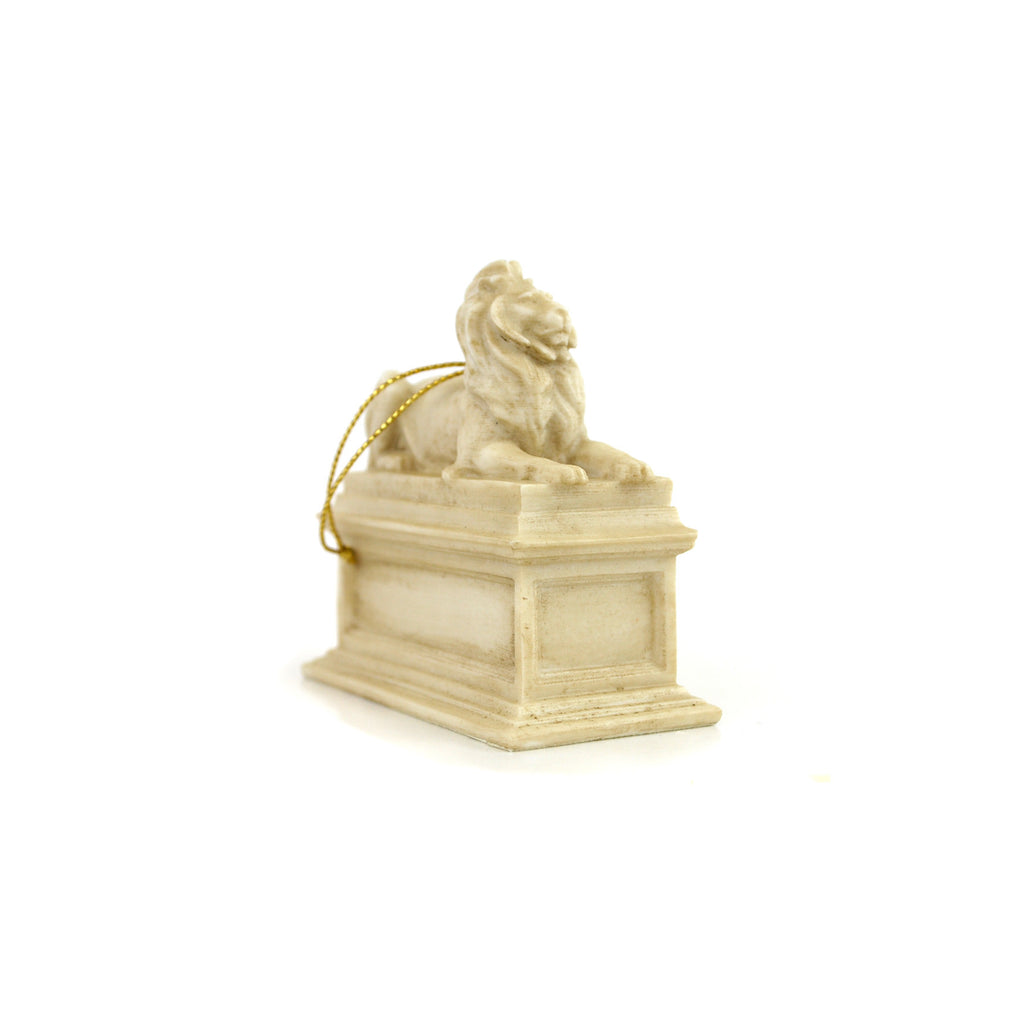 Library Lion Ornament