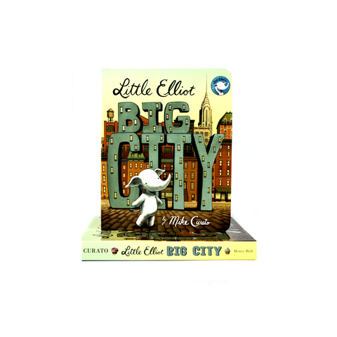 Little Elliot Big City (board book)