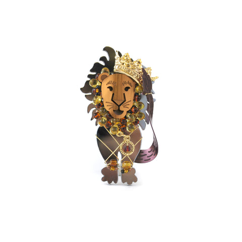Courage Lion Pin - The New York Public Library Shop