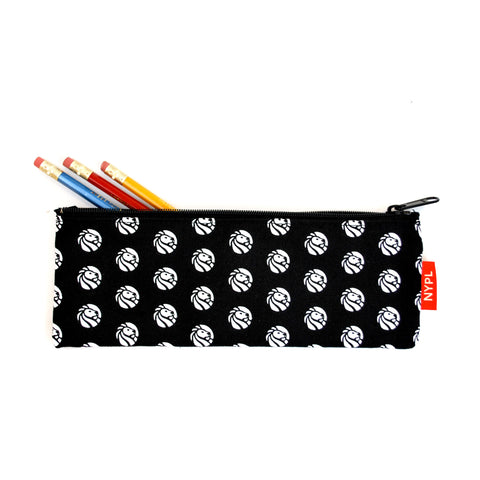 NYPL Logo Dot Pencil Case
