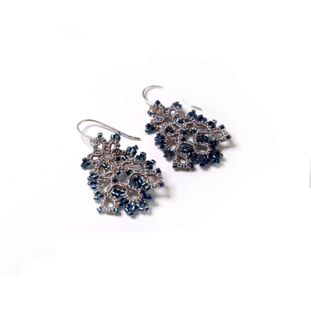 Lace Earrings: Nigella Pippa