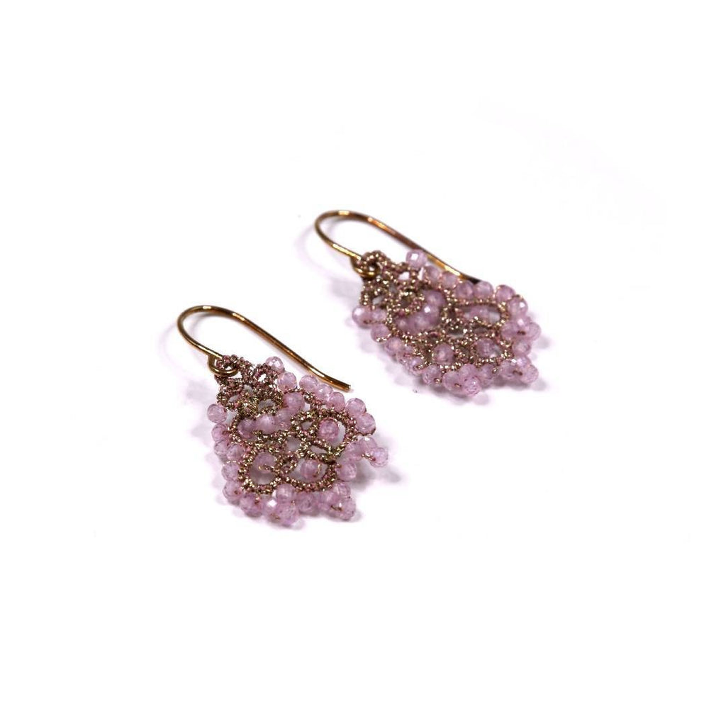 Lace Earrings: Rose Dora