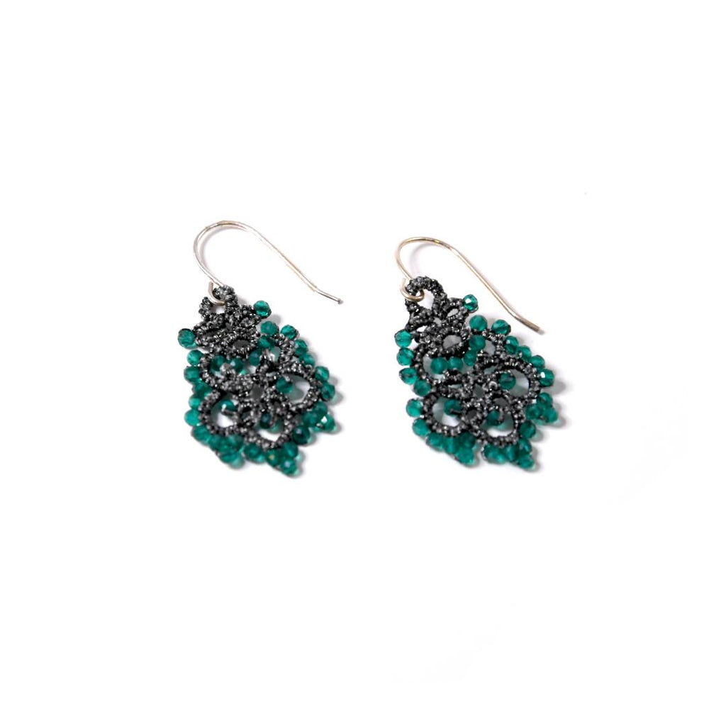 Lace Earrings: Forest Dora