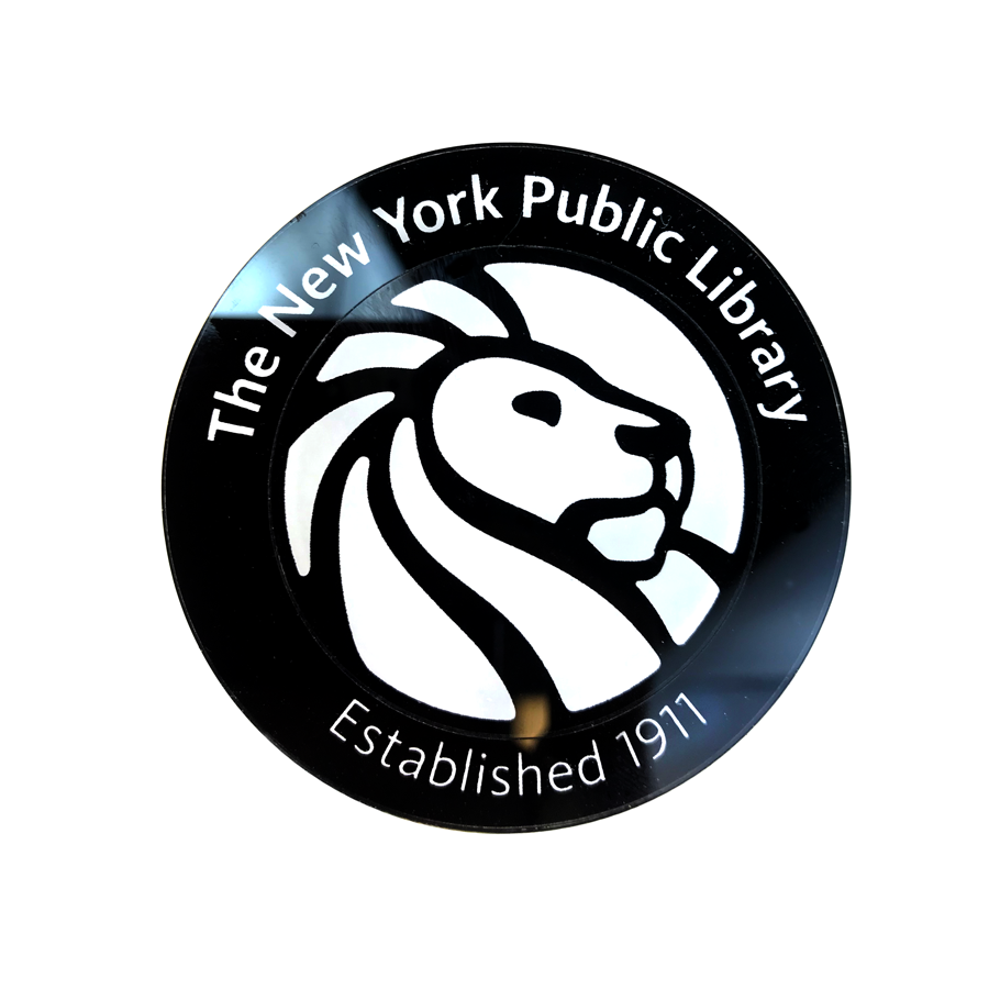 NYPL Acrylic Magnet - The New York Public Library Shop
