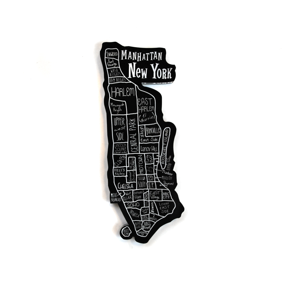 New York City Neighborhood Magnet - The New York Public Library Shop