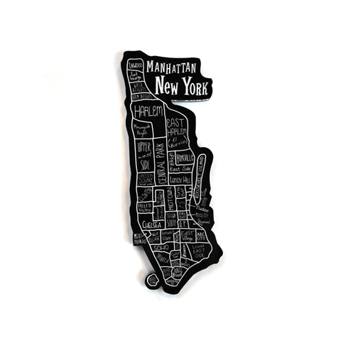 New York City Neighborhood Magnet