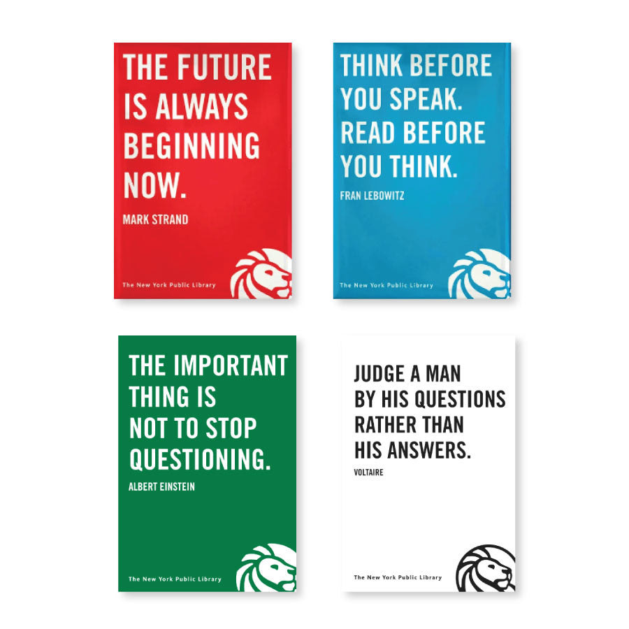 NYPL Philosophical Ponderings Quote Magnet Set
