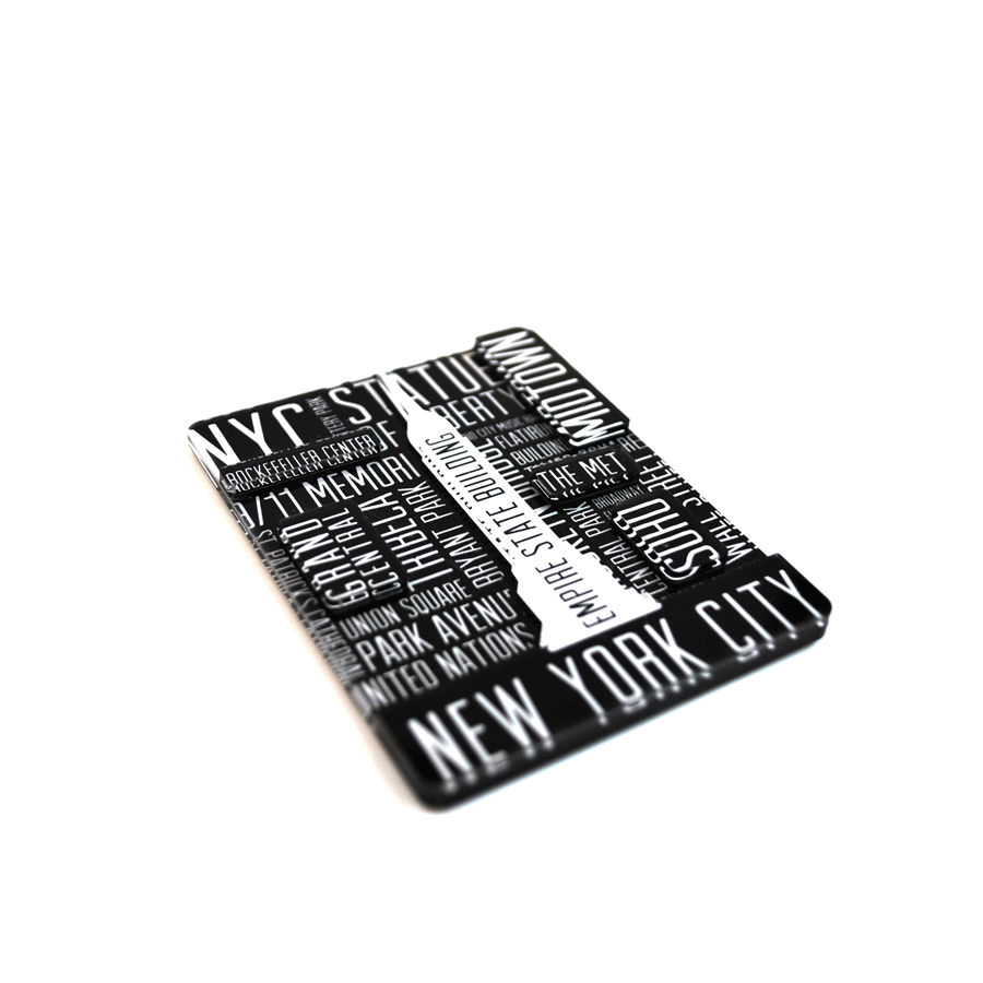New York City Word Cloud Magnet - The New York Public Library Shop