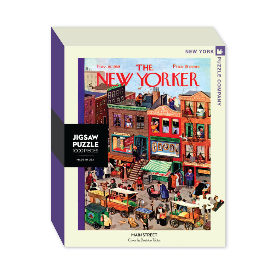 Main Street New Yorker Puzzle - The New York Public Library Shop