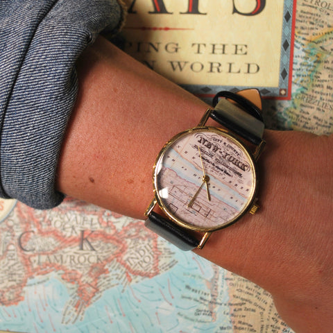 NYPL New York Map Watch - The New York Public Library Shop