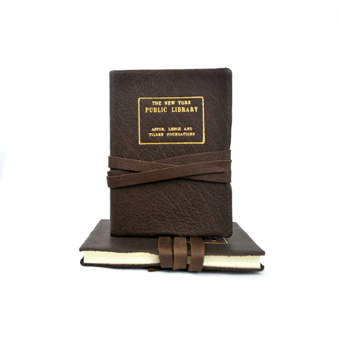 Leather NYPL Stamp Journal