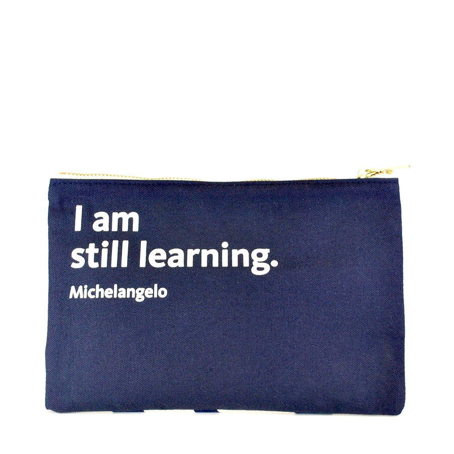 NYPL Michelangelo Pouch - The New York Public Library Shop