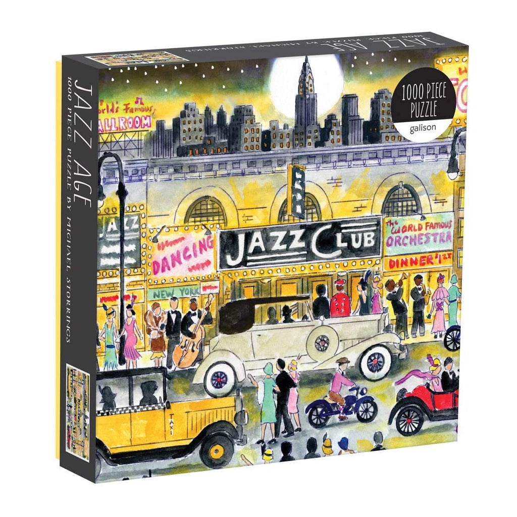 Jazz Age Michael Storrings Puzzle - The New York Public Library Shop