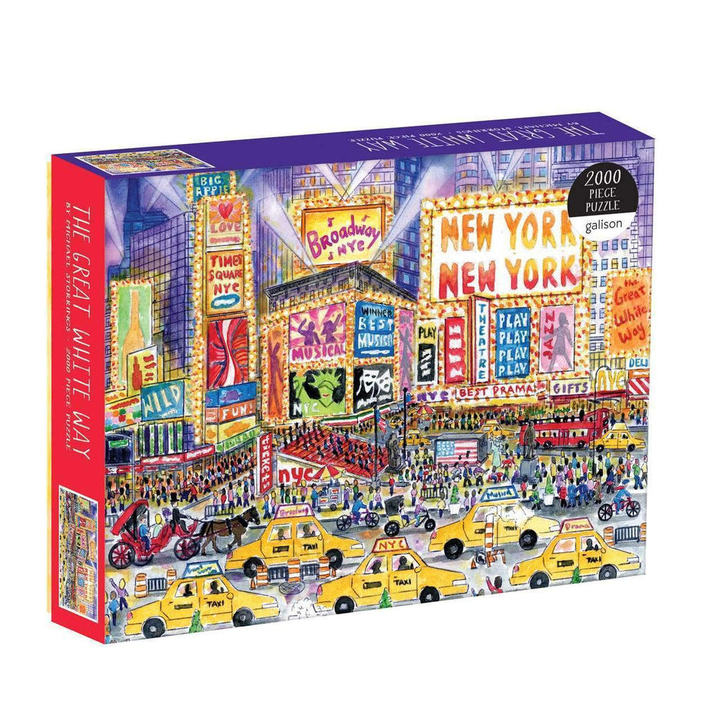 The Great White Way Puzzle - The New York Public Library Shop