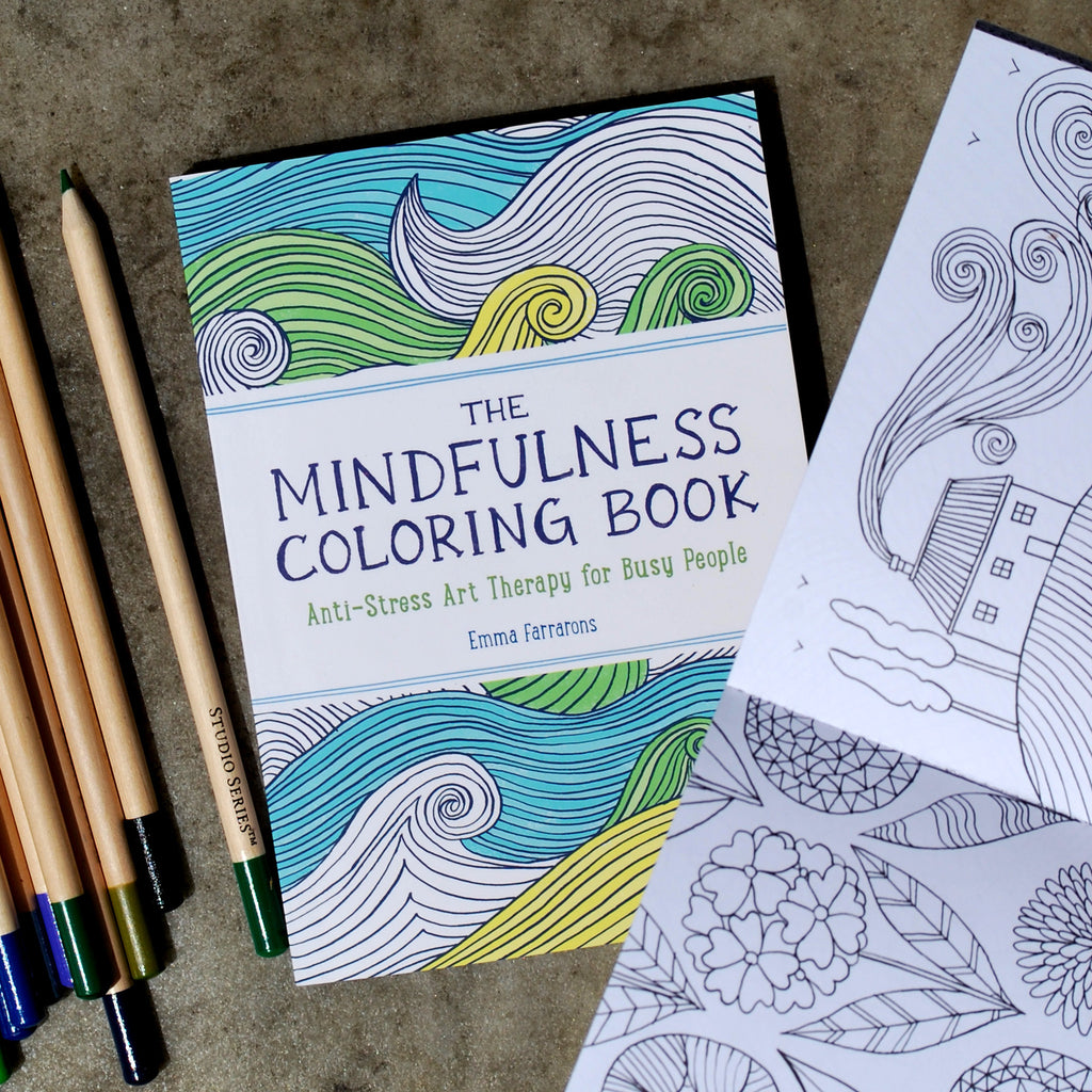 Little book of coloring for mindfulness - The Mindfulness Coloring Book Anti Stress Art Therapy For Busy People The New