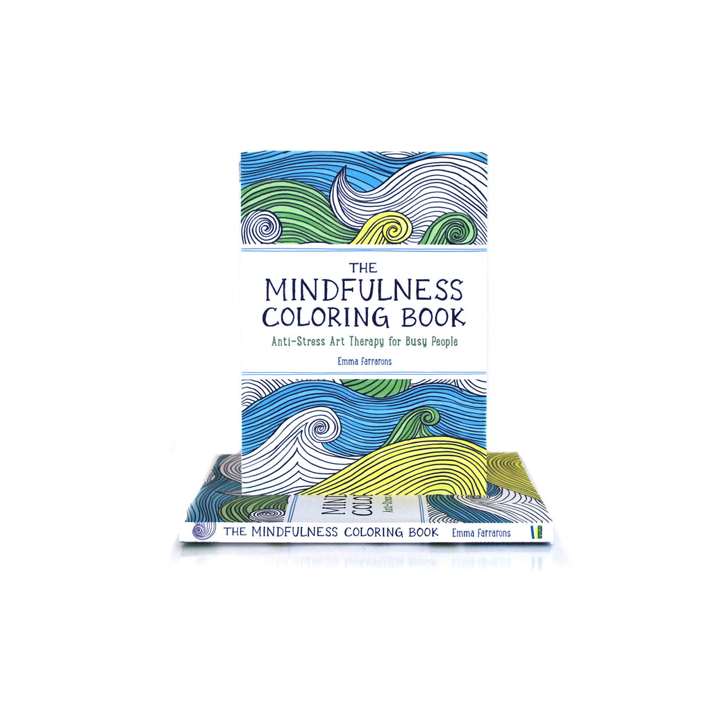 The Mindfulness Coloring Book: Anti-Stress Art Therapy for Busy People - The New York Public Library Shop
