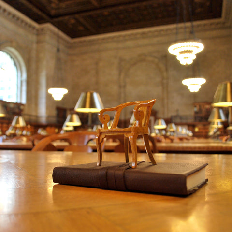 Rose Main Reading Room Miniature Chair - The New York Public Library Shop