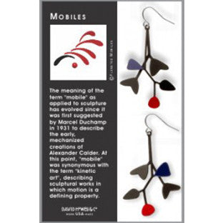 Mobile Earrings - The New York Public Library Shop