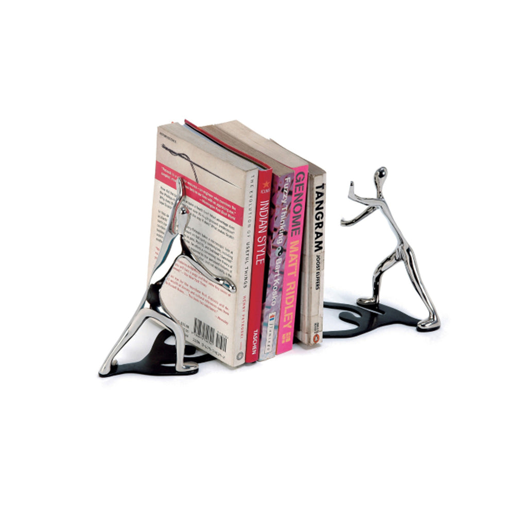 Chrome Bookends - The New York Public Library Shop