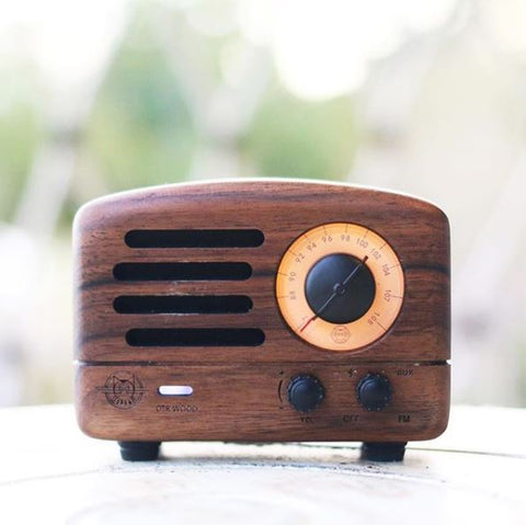 Retro Mini Radio / Bluetooth Speaker